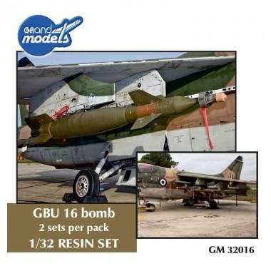 1/32 GBU-16 Guided bomb (set of 2)
