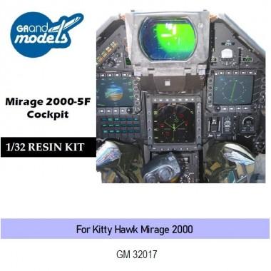 1/32 Mirage 2000-5F Cockpit