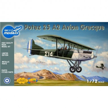 """1/72 Potez - 25A2 """"Avion Grec"""""""
