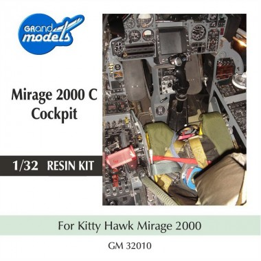 M2000C Cockpit for Kittyhawk kit , 1/32