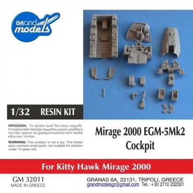 1/32 Mirage 2000EGM-5Mk2 Cockpit set