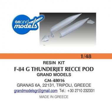 1/48 F-84G RECCE POD