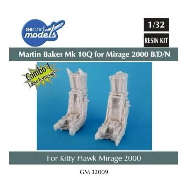 1/32 Combo Martin Baker Mk.10Q for M2000 B/D/N (loose harnsesses)