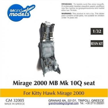 1/32 Martin Baker Mk10Q seat  for Mirage 2000, crew ready